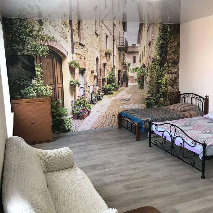 Квартира с дизайнерским интерьером