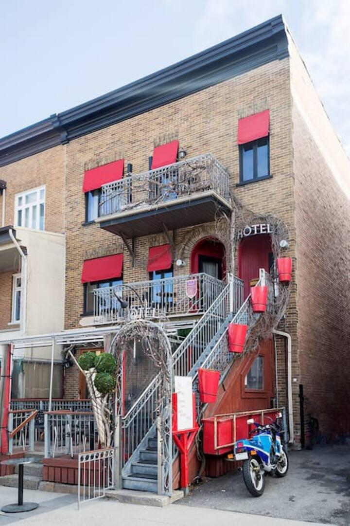 Petit Hôtel Café Krieghoff, Chambre 2