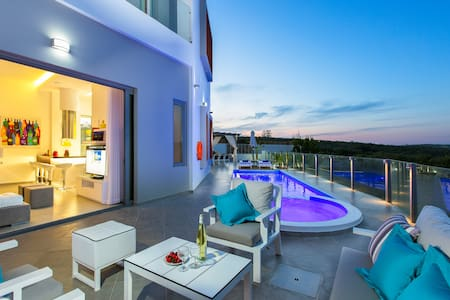 Villa Chara, luxurious design! - Rethymno