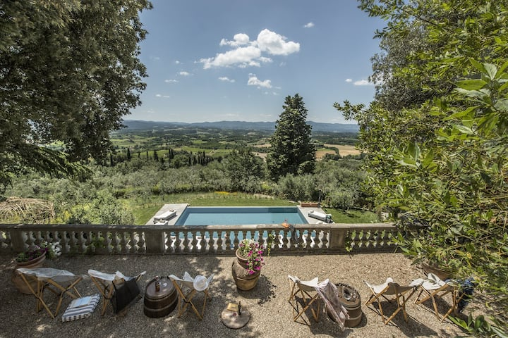 Villa del Poeta, in the truest and most authentic part of Tuscany