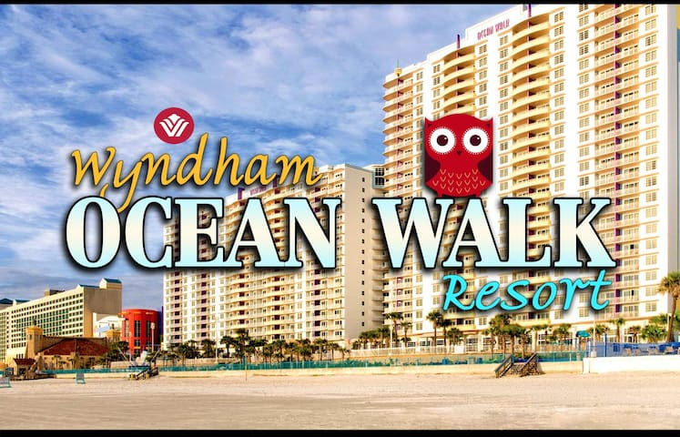 Ocean Walk Resort ツ 1BR Equipped Wyndham Condos - Daytona Beach - Appartement en résidence