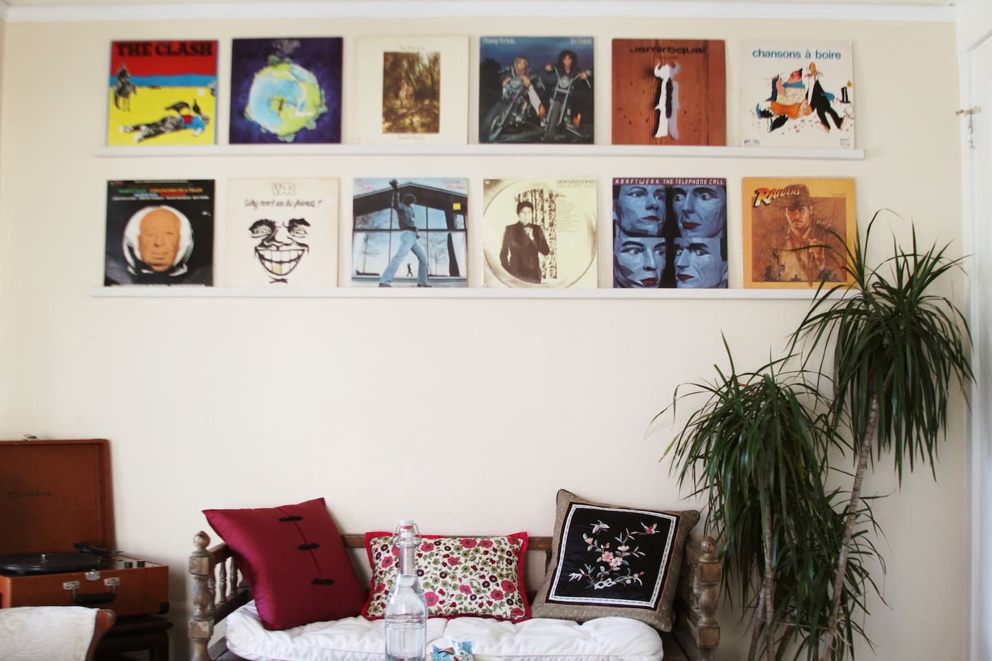 Record wall- your room.