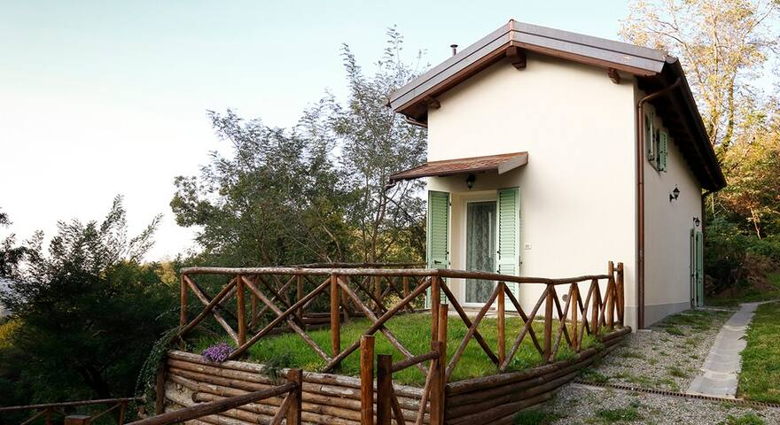 Two bedrooms flat with garden in the Apennines - Anconella - Daire