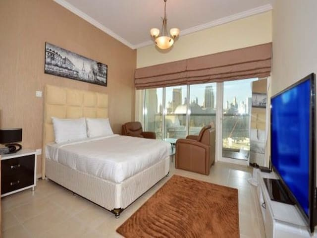 Studio Apartment  Close to Dubai Mall/Burj Khalifa
