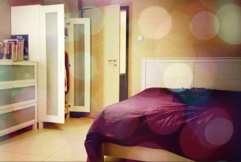 特别舒服的床,枕头被褥质感很赞