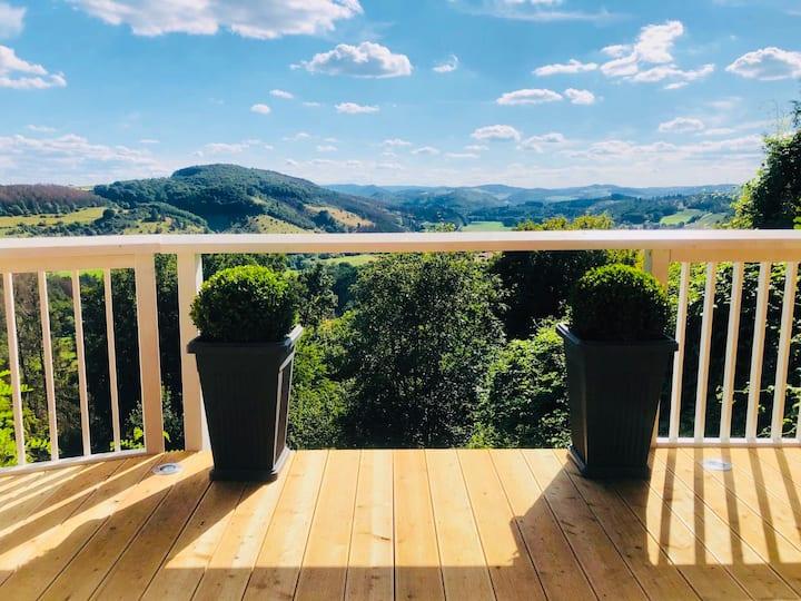 Panoramablick, Natur, Genuss - Sauerlandfenster 3!