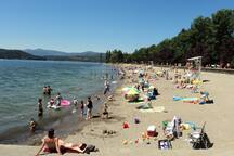 CDA Beach.