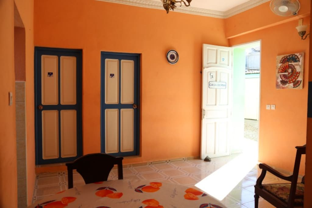Colonial Living Room - View 1