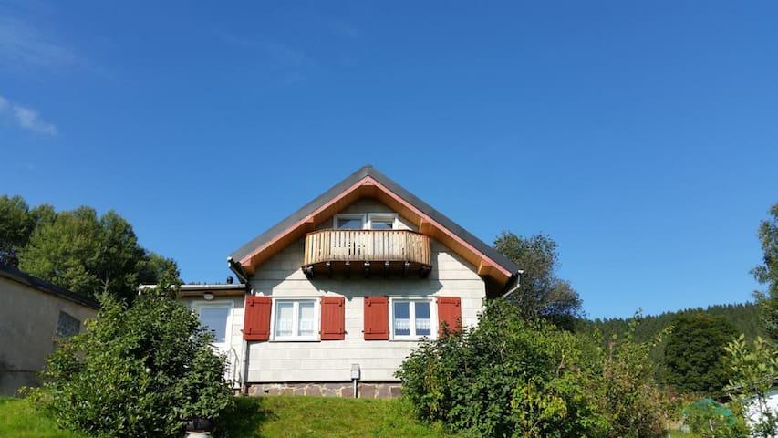 "Ferienhütte ""Ilmtalblick"""