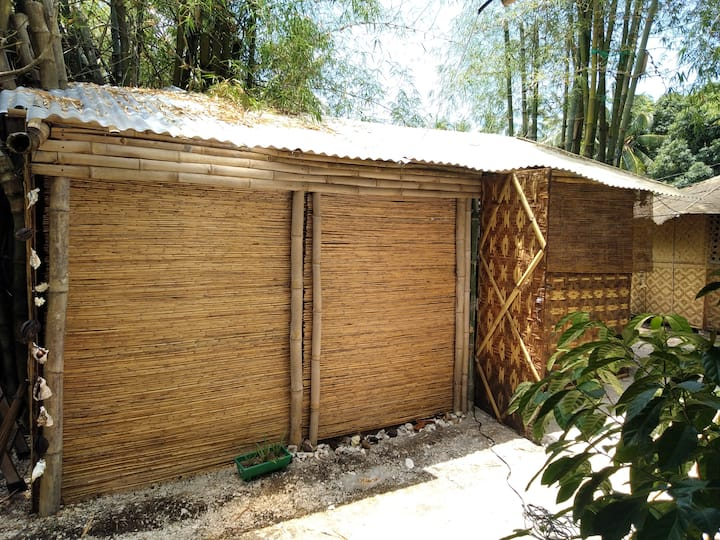 ecological bamboo bungalow