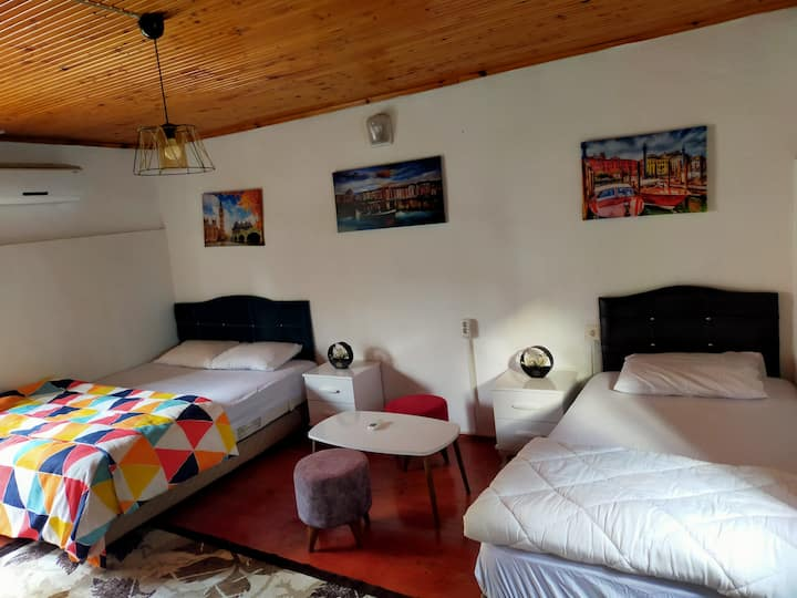 Amintas Room /authentic room in city center