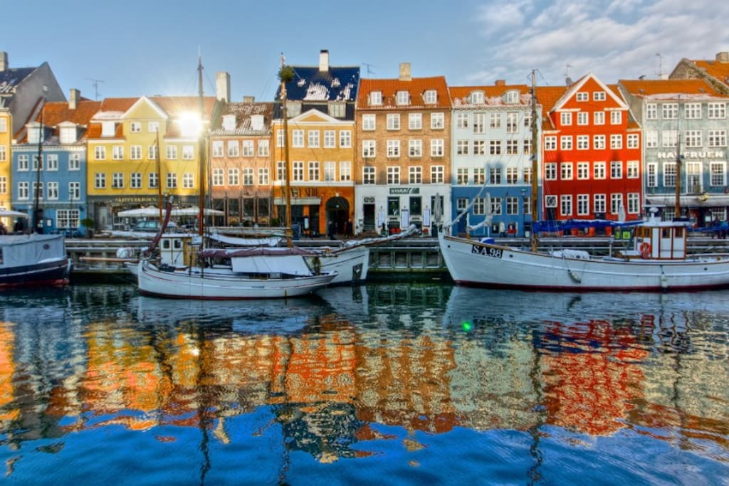 Drink your coffee in Nyhavn