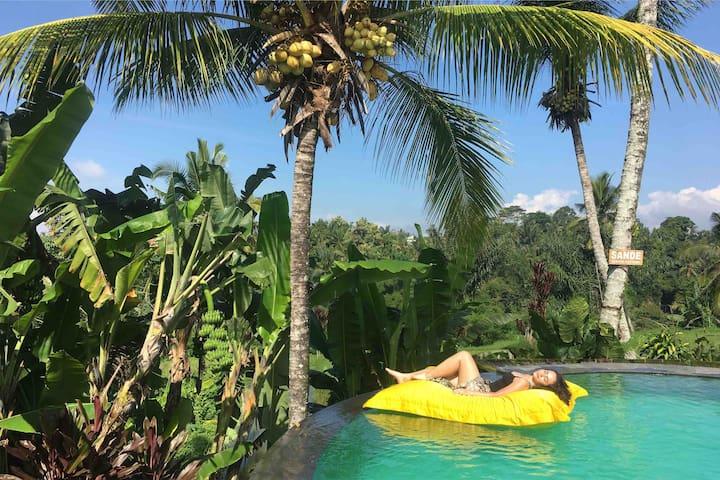 Relaxing SANDE Sebatu Cottage, Ubud, Bali