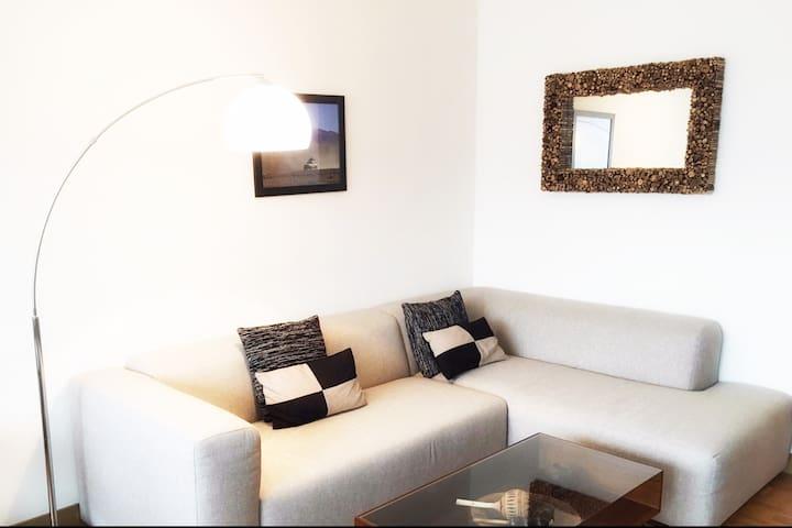 Cosy apartment in great area of Geneva - Carouge - Apartamento