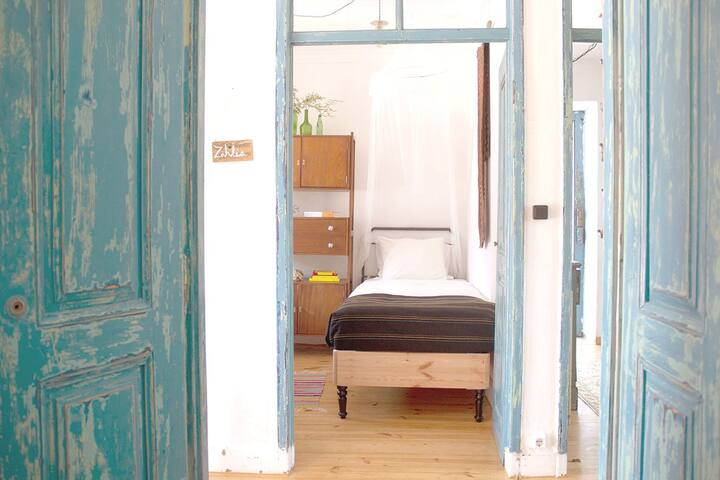 All the guesthouse private rooms are light and airy with contemporaneity design features and classic farm flair.