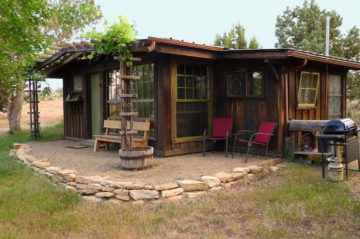 Some call it the Canyon Cabin. Some call it the Einstein Cabin.