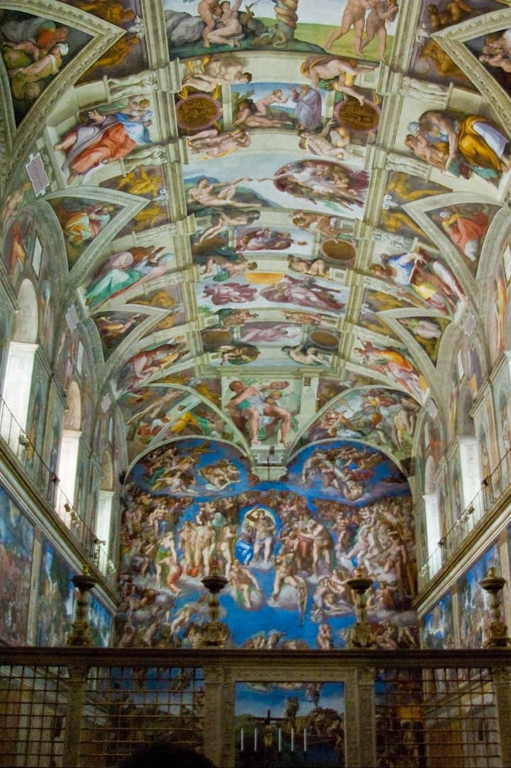 The Sistine Chapel at its best!