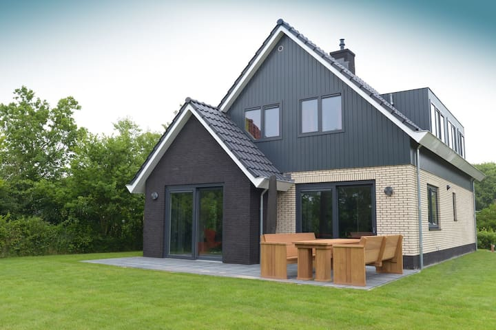 Luxury Villa in Texel with Private Garden