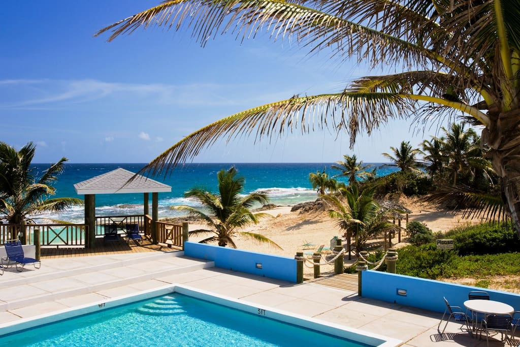Enjoy our Pool and Beach Cove!