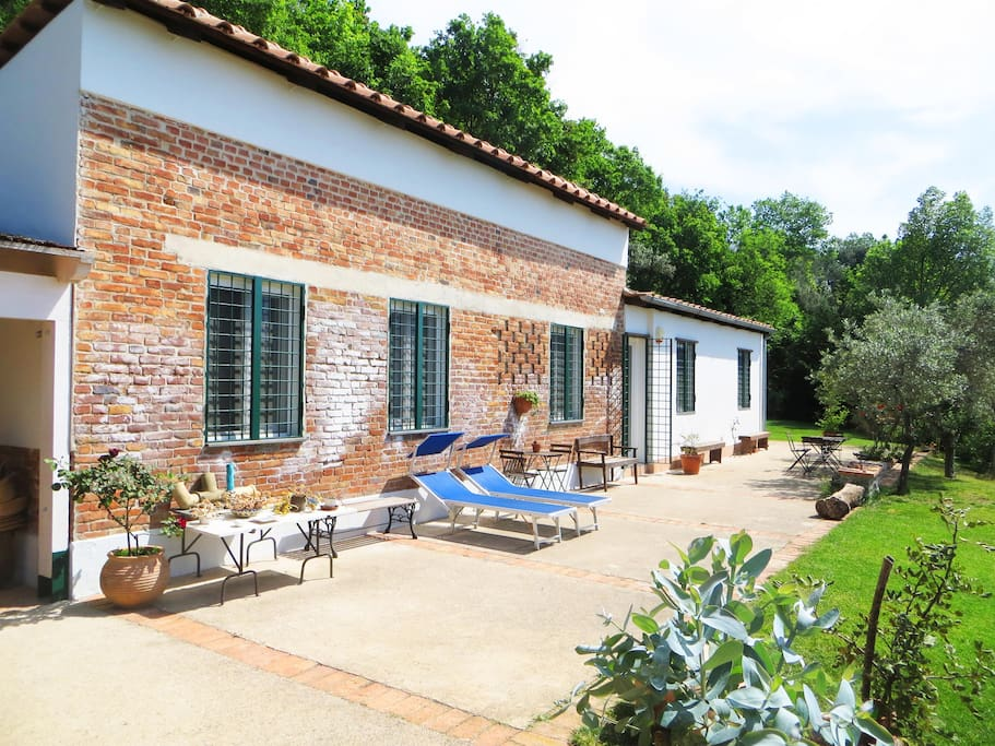 "The villa ""La Santa"" is immersed in the ancient estate ""Il Trignano"". Six hectares in Amalfi coast"