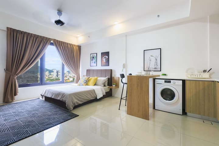 New Studio Suite@middle of Georgetown||市中心舒适套房