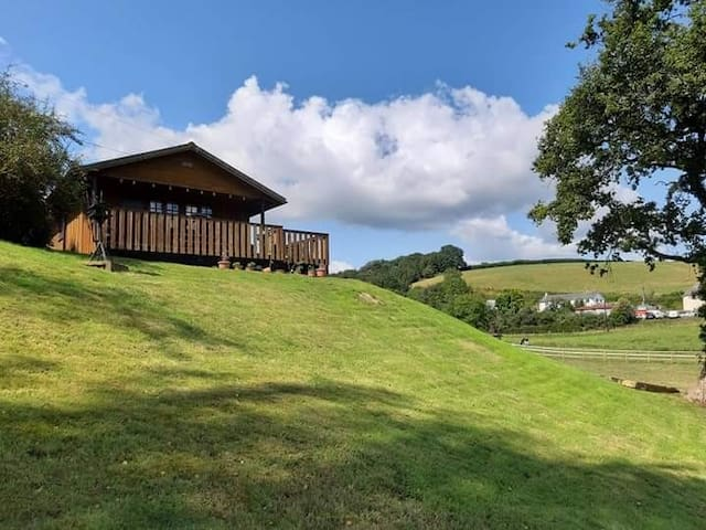 Beautiful Primrose Lodge in Glorious Mid Devon