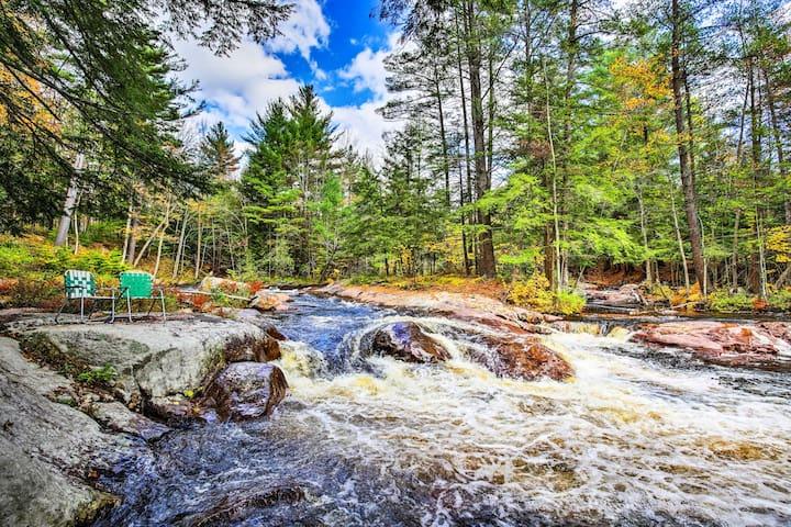 Otter Creek Falls Cabin