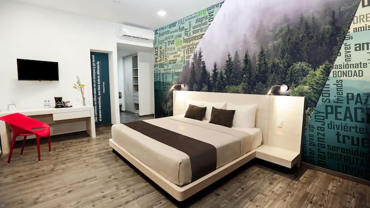 Doble Superior Cama King Life Hotel