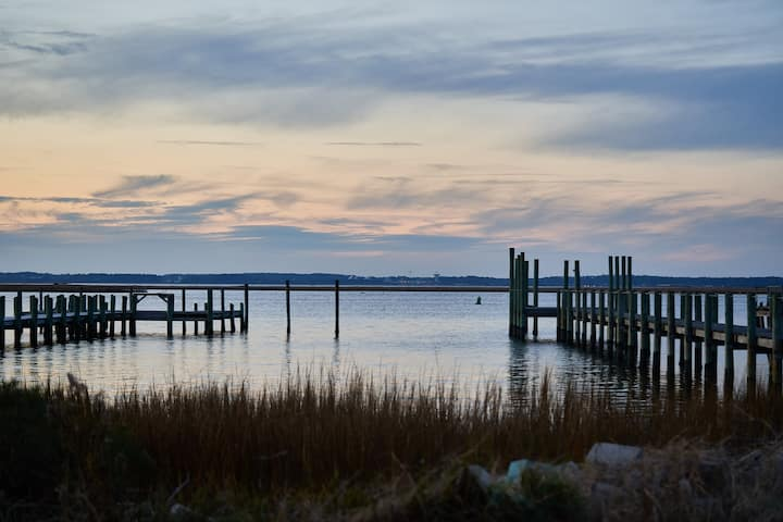 Waterviews-Chincoteague Sunsets-Leighward Landing