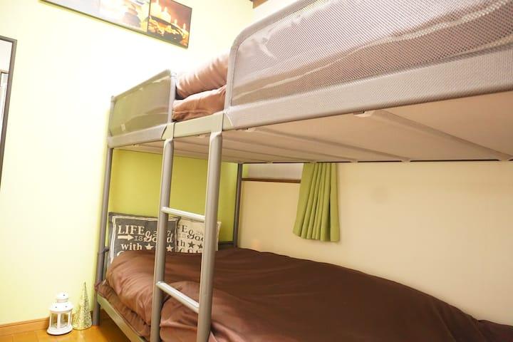 緑@best location cozy room jujo sta 2min Tokyo