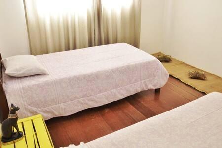 2 camas de solteiro - Casa Zen