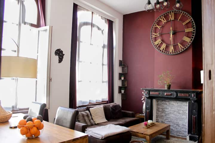 Luxurious cosiest apt in the heart of Brussels