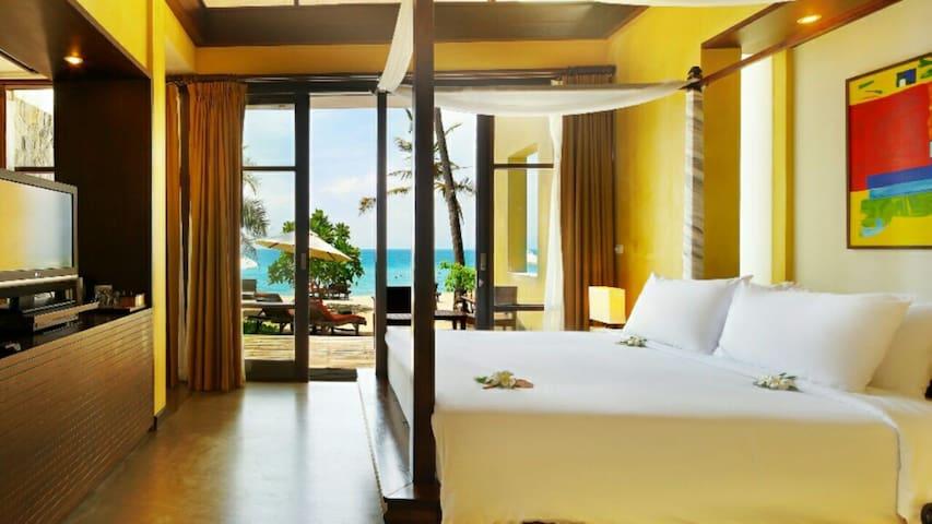 Biggs Beach front villa Chaweng Noi - koh samui - Bed & Breakfast