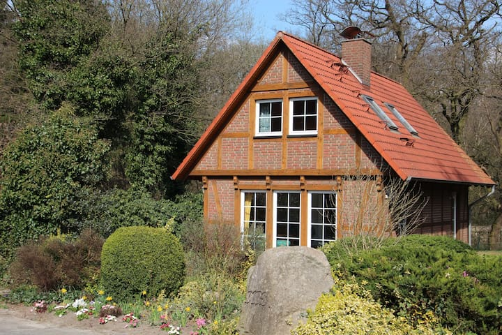 Beautiful timbered house on farm - Schiffdorf - Dom