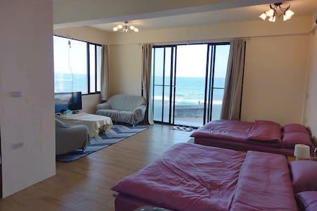 大香蘭海岸A/海景房/大落地窗/大陽台/家庭房