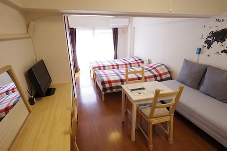 Heart of Shinjuku/30㎡/Free Pocket Wifi/Comfy Room‼