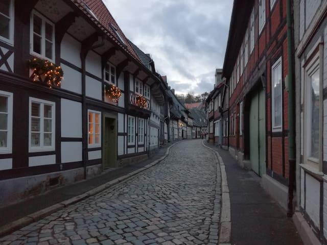 Peters Island in old town of Goslar