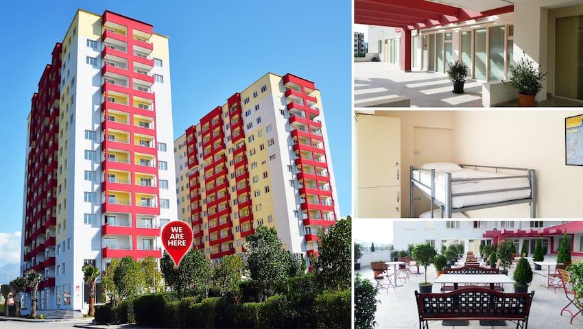 Garden City Hostel, Tirana