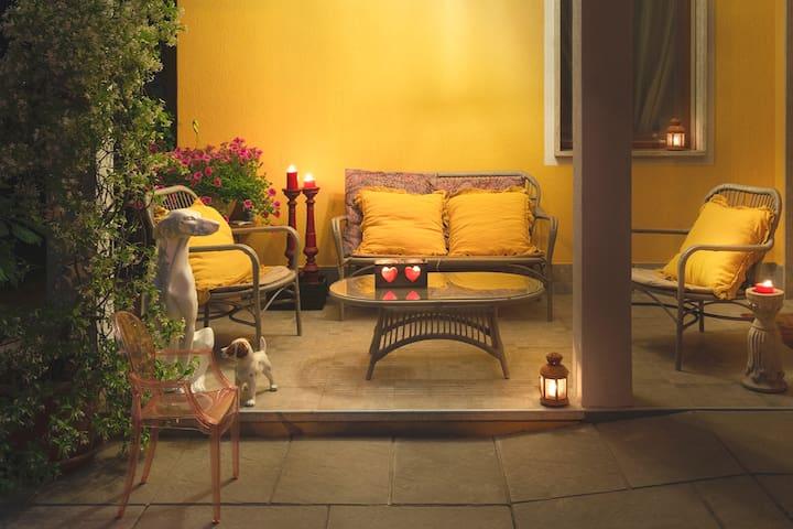 """Haus mit Garten """"La casa di Tina"""""""
