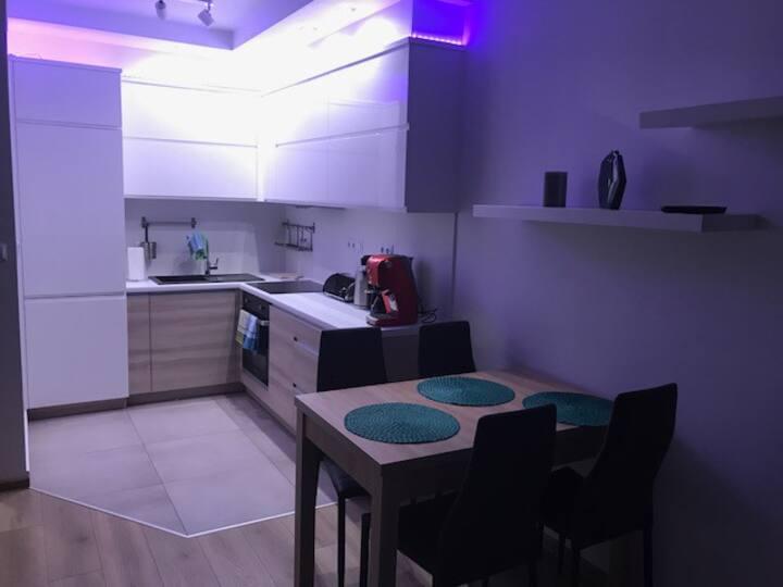 Green Burn Apartment luxury, near centrum, WiFi