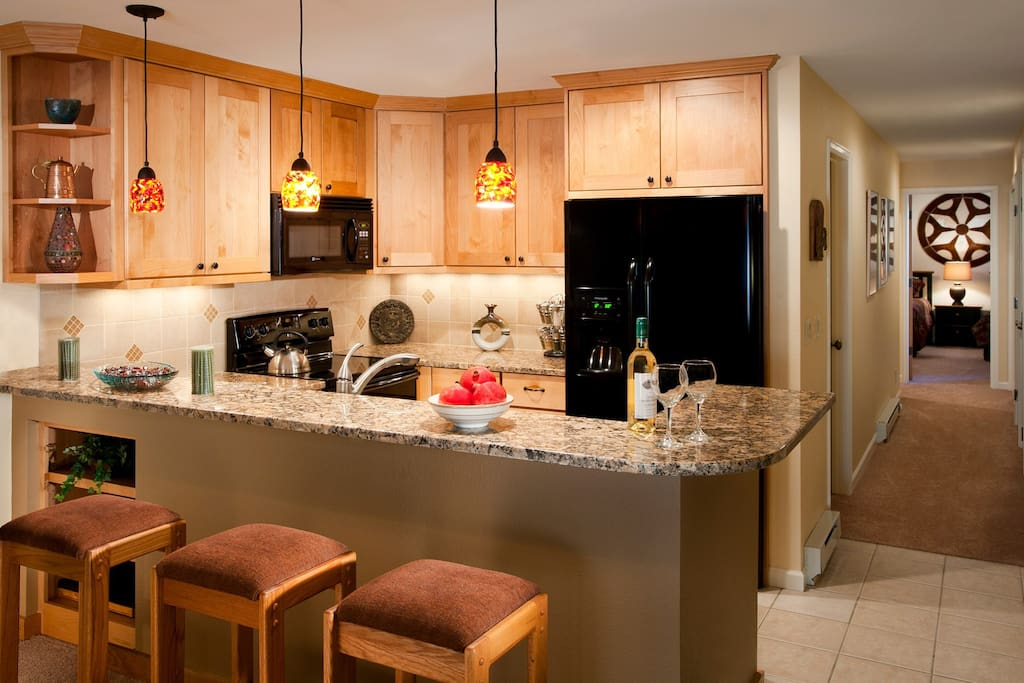 Prepare meals in the privacy of your own fully-equipped kitchen.