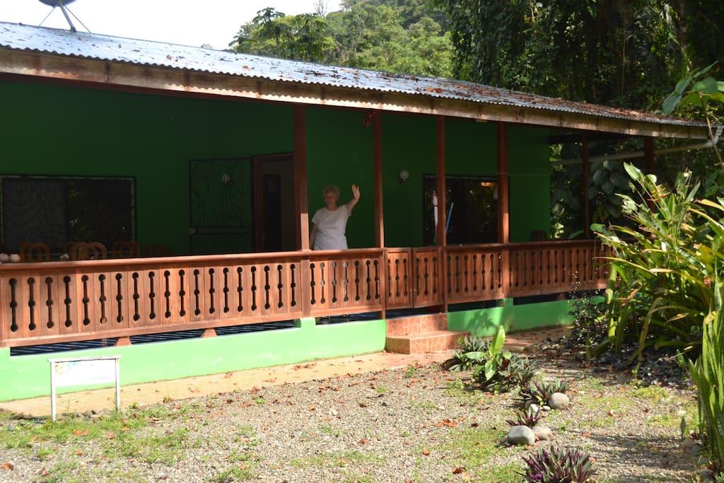 Casa Samadhi - outside