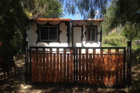 Casa y departamentos cabañas EL SECRETO con vista - Maison