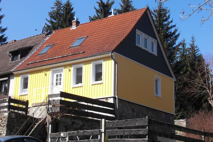 Gemütliches Ferienhaus in Neuwerk mit eigener Terrasse