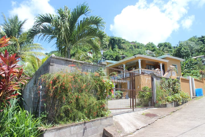 Miss Lew`s Local Living at Grand Anse Beach