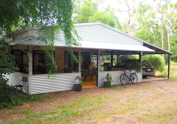 Tranquil Bush Retreat at Shed on Head.