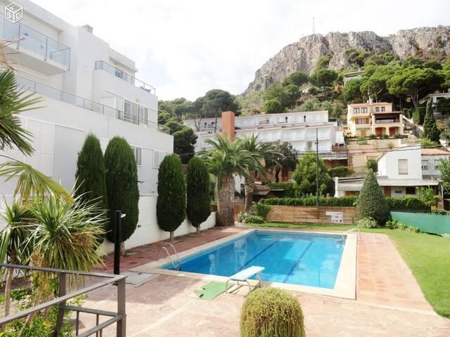 Appt T2 + terrasse 92 m² + piscine + plage à 350 m - L'Estartit - Apartment