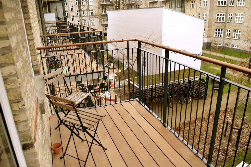Balcony (winter time)