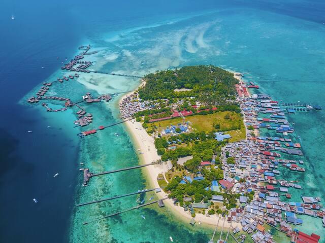 马来西亚,仙本那,马布岛水屋民宿Sipadan borneo