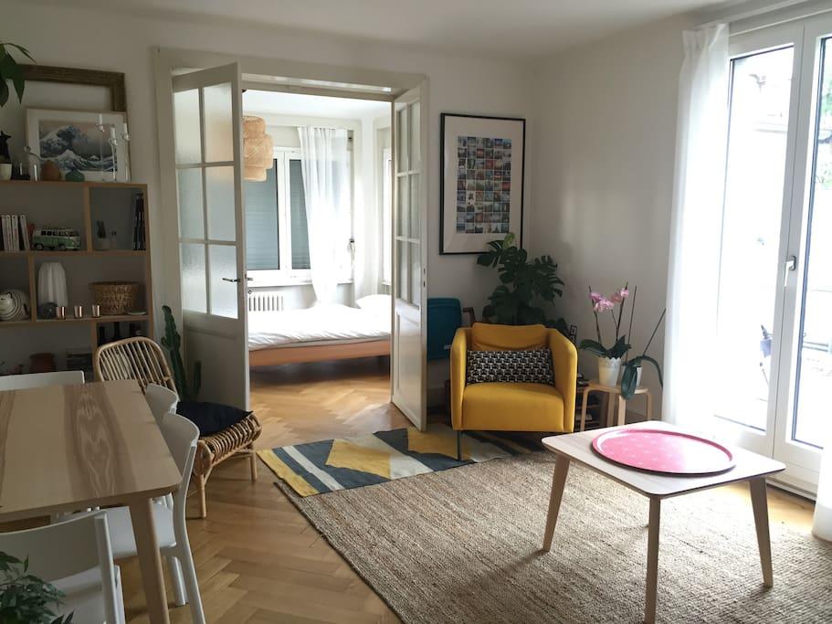 Chambre double dans joli appartement chambre n 2 for Chambre a louer a lausanne